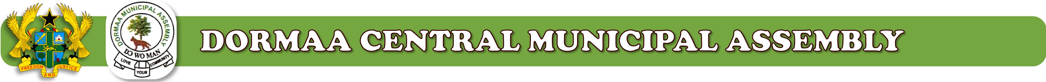 Dormaa Central Municipal Assembly Logo